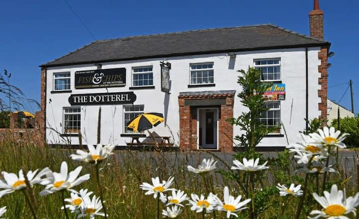 The Dotterel Inn  Filey, bookings are per room.
