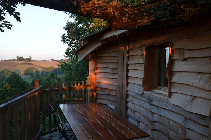 Cabane Gorgone d'Arbrakabane - Peyrissas - Treehouse