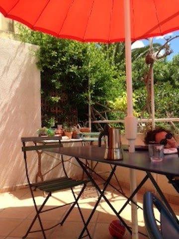 Appartement avec terrasse et jardin appartements louer - Terrasse jardin londrina quadra marseille ...