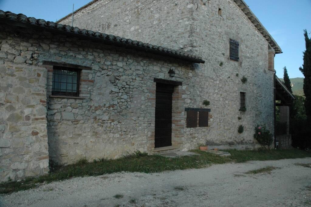 Outside Castagno