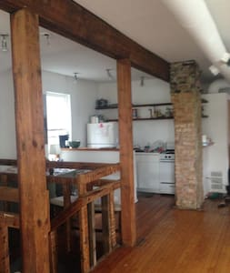 Open Loft -Great Chicago Location - Chicago - Loft