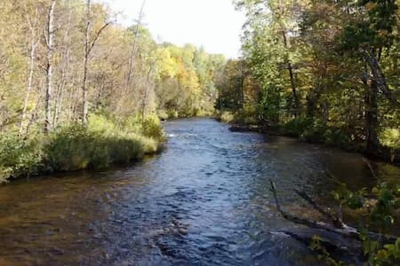 Pigeon River Lodging, 30min from mackinaw