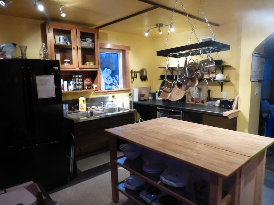Full kitchen facilities for guest use