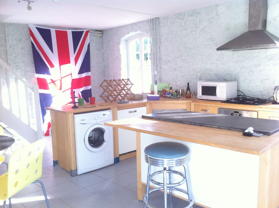 American-style kitchen