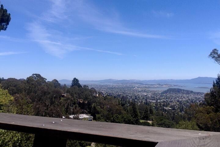 House in North Berkeley hills