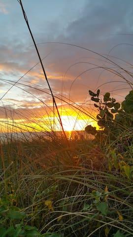 Sunset on Madeira Beach
