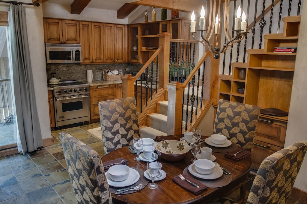 upstairs has full bath, trundle sleeper and twin bed.