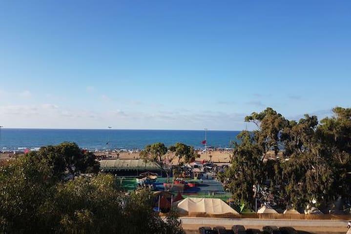 Bel Appart, 2 mn de la plage, situation/vue except - Saïdia - Apartment