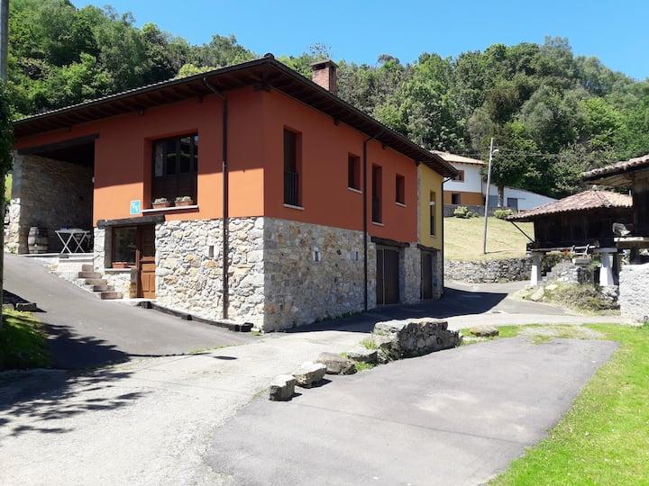 Casa en espacio protegido Sierra del Sueve