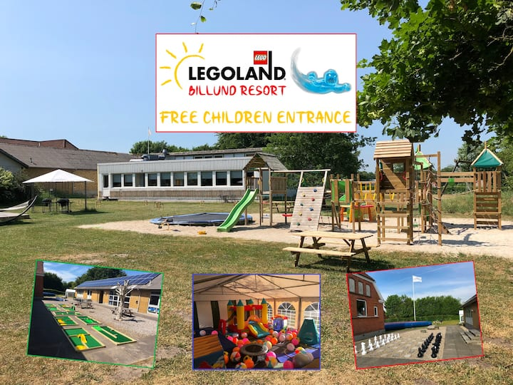 Family resort summer camp - Near LEGOLAND