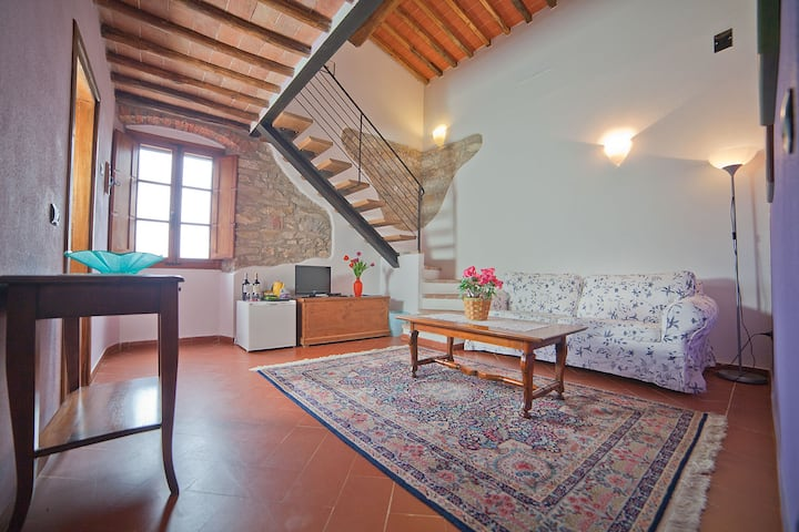 Family run winery in the Chianti area- Vale suite-