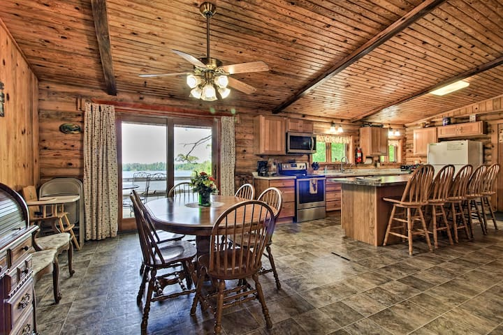 Spacious Lakefront Hines Cabin  - Pet Friendly
