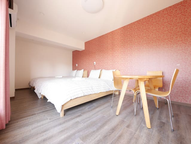 S Lovely&Bright Prvt Room for 4, Shibuya Shinjuku