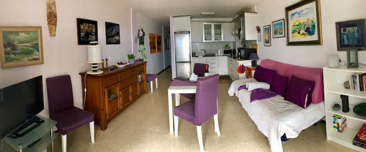 Apartamento para descansar, disfrutar junto al mar