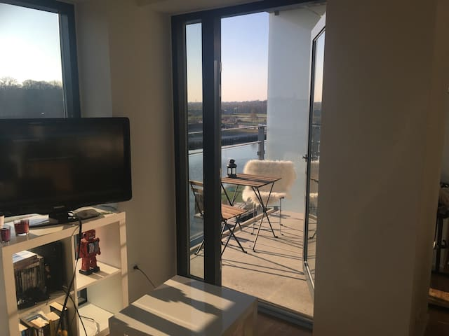Hyggelig lys lejlighed på havnen - Odense - 公寓