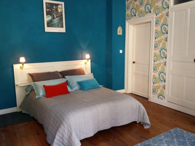 BEAUX ESPRITS Chambre Hortense - Fontenay-le-Comte - Bed & Breakfast