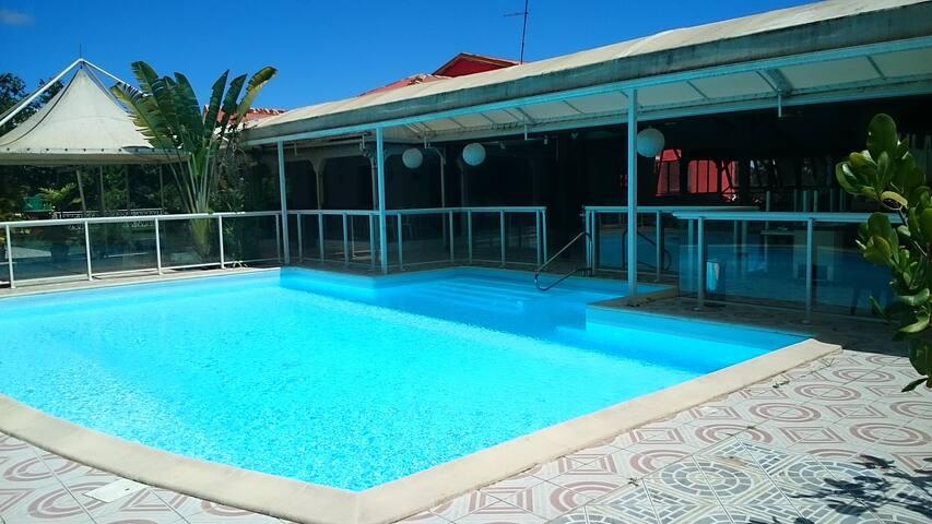 TiMadras 2/4pax,piscine zen,English/Deustch