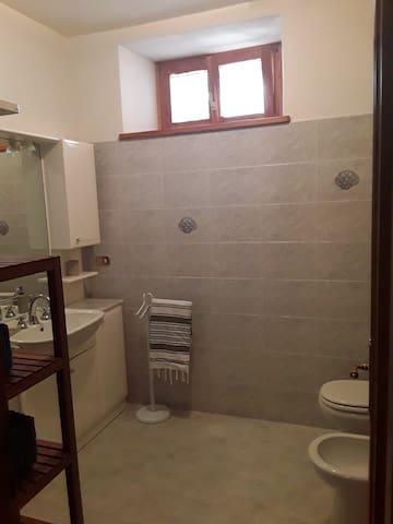bagno esclusivo con doccia