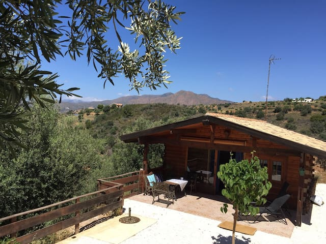 Cozy cottage in the mountains - Mijas - Cabane
