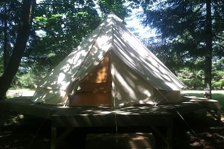 Bell Tent in Wine Country.