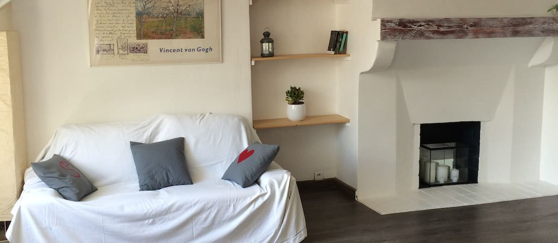 Castle area, bright studio flat / week