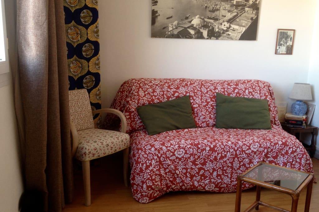 Sofa bed (BZ model with a Bultex mattress)...