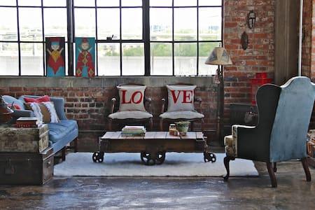 NY Style Warehouse Loft with Views - Richmond