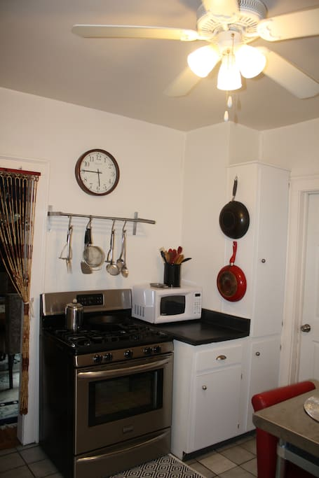 Comfortable Seating in Kitchen