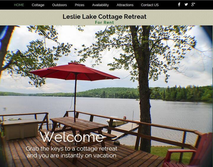 4 Season Lakefront Cottage 15 beds-7 in winter