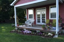 Relax on the porch while enjoying your morning coffee!