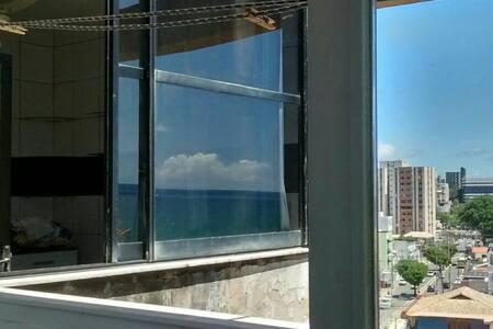 Quarto duplo arejado com vista mar - Salvador