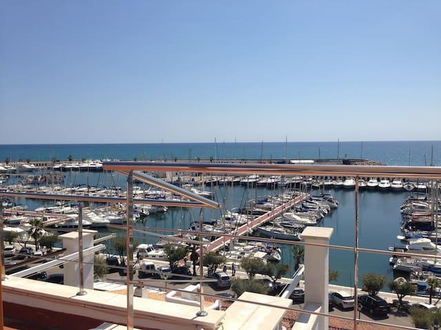 Fantastic Sea view-1st line Sitges - Sitges - House