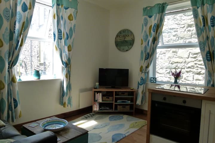 Holiday flat on Snowdonian estuary