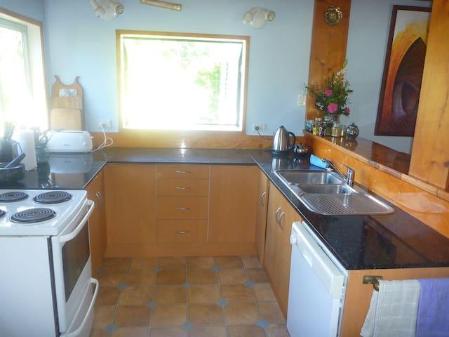 Modern granite benched kitchen