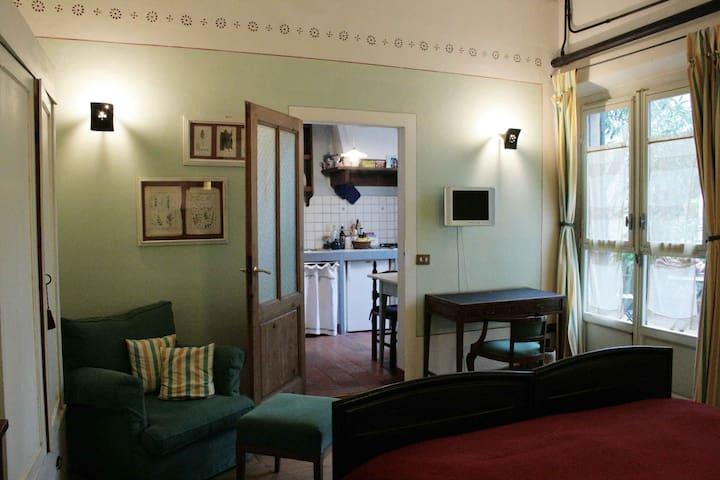 Country apart. in beautiful Villa