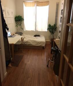 Big sunny room on McCarren Park