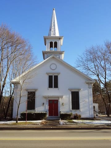 Renewed 1858 Meetinghouse - Kennebunk