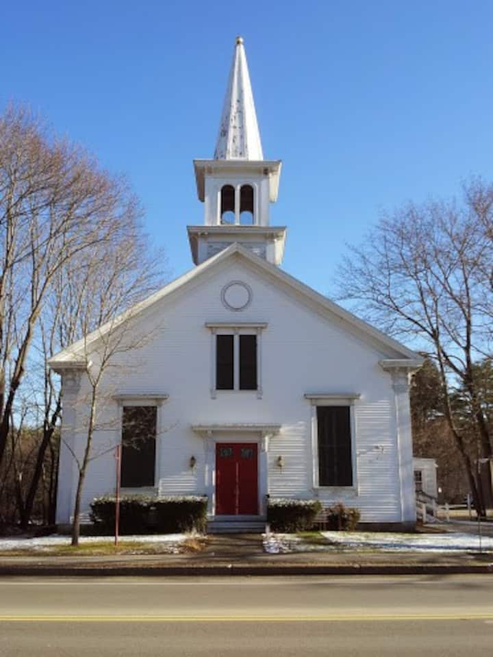Renewed 1858 Meetinghouse in Kennebunk Village