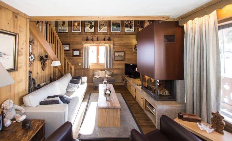 Luxury duplex apartment - Megève