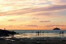 Enjoy some wonderful sunsets