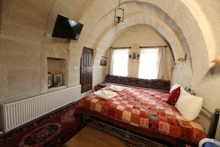 Caravanserai Cave Arch Room 1(Goreme-Cappadocia)