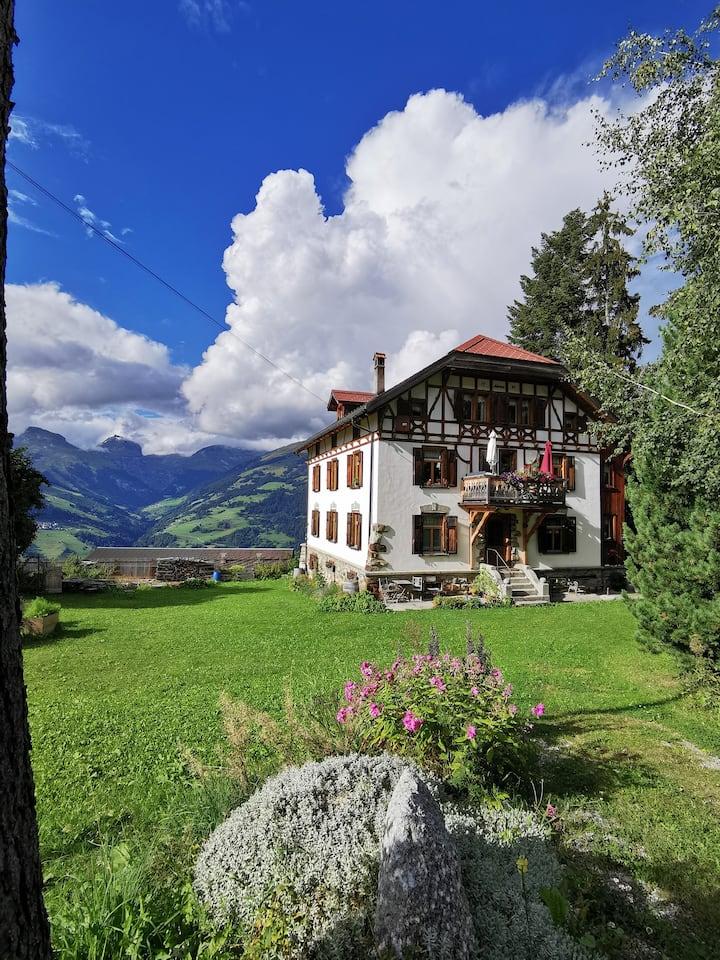 Gemütliche Dachwohnung in der Casa Alpina
