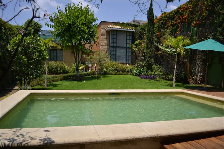 Lovely Colonial house swimming pool - Cuernavaca - Rumah
