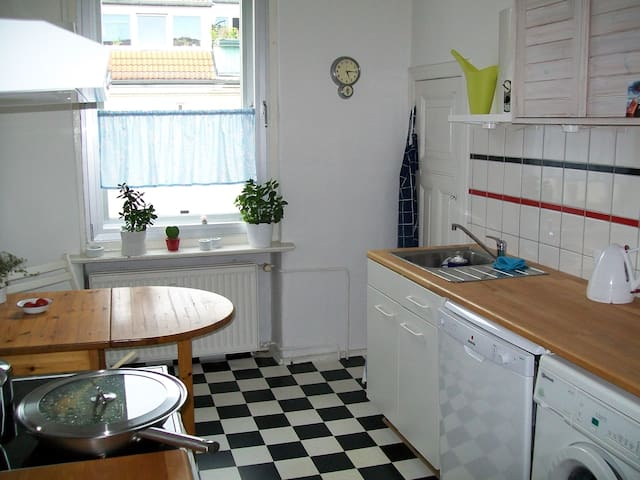 This is the lovely kitchen