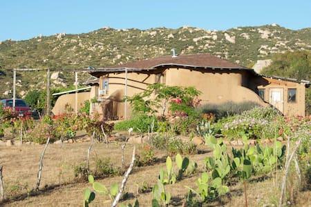 Casa de Tierra Vineyard Ecolodge - Ejido El Porvenir