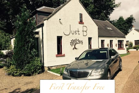 The Sean Connery suite @ Just B - Balerno