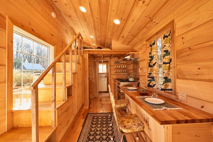 Tiny House 3 on Farm, Upstate NY Catskills