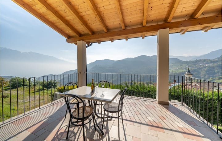 Nice home in Vesio di Tremosine BS with WiFi and 2 Bedrooms
