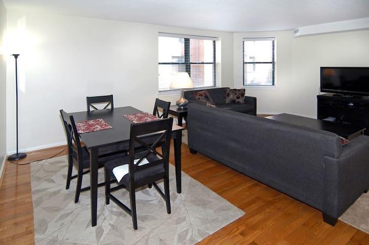 [1250-1NE]Elegant 1BR in Back Bay - Boston - Apartamento