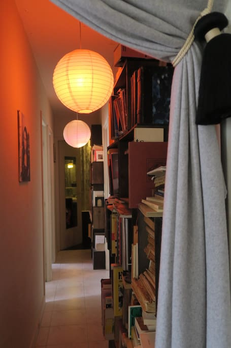corridor-library to go to your room